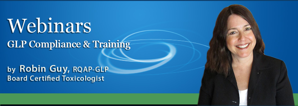GLP webinars with Robin Guy